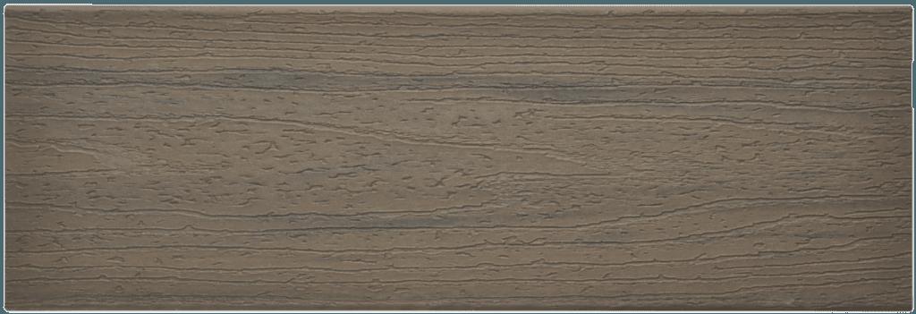 דוגמה ללוח דק סינטטי איפאה (Coastal Bluff) - טרקס דקים סינתטיים חיפוי קירות חוץ סינטטיים דמוי עץ, התקנת דק סינטטי ומעקות חוץ סינטטיים דמוי עץ