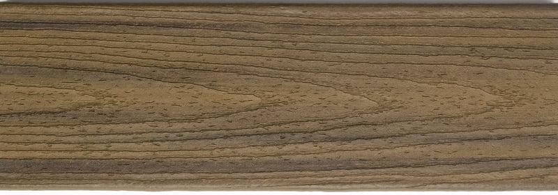דוגמה ללוח דקים סינטטיים טיק בורמזי (Havana Gold) - טרקס דקים סינתטיים חיפוי קירות חוץ סינטטיים דמוי עץ, התקנת דק סינטטי ומעקות חוץ סינטטיים דמוי עץ
