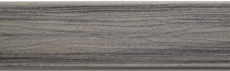 דוגמה ללוח דקים סינטטיים אפור (Island Mist) - טרקס דקים סינתטיים חיפוי קירות חוץ סינטטיים דמוי עץ, התקנת דק סינטטי ומעקות חוץ סינטטיים דמוי עץ