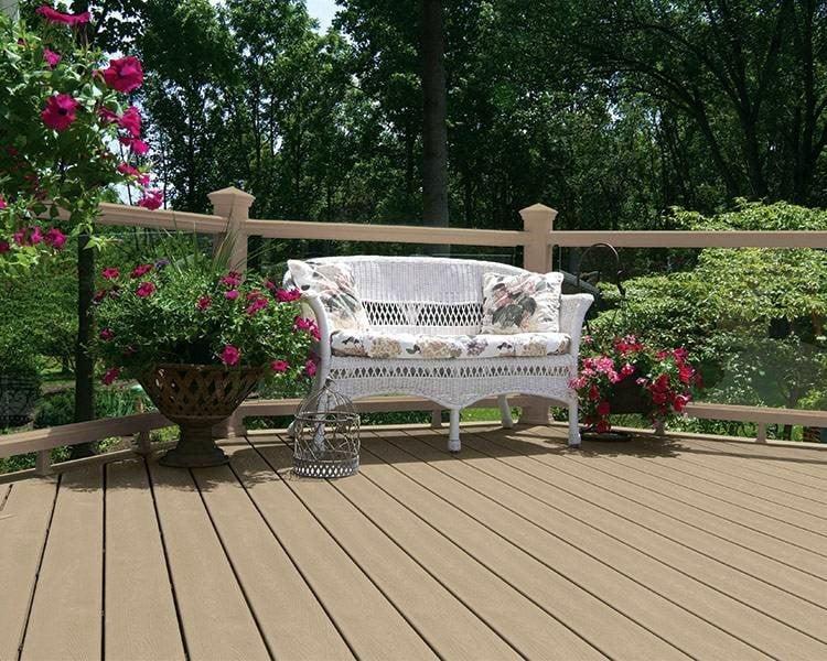 דק אורן, דקים סינטטיים אורן (Rope Swing) - חברת TREX מומחים בדק סינטטי לגינה, דק למרפסת שמש ודק לחצר