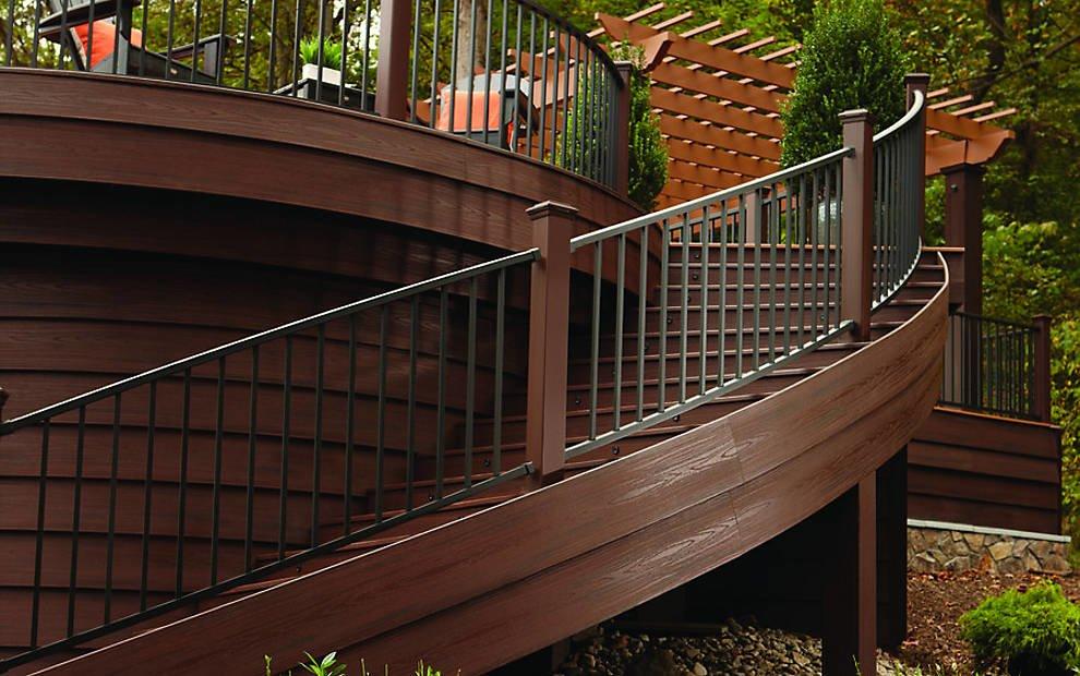חיפוי קיר דמוי עץ - TREX דקים סינטטיים, חיפוי קירות חוץ דמוי עץ, התקנת דקים סינטטיים ומעקות חוץ דמוי עץ